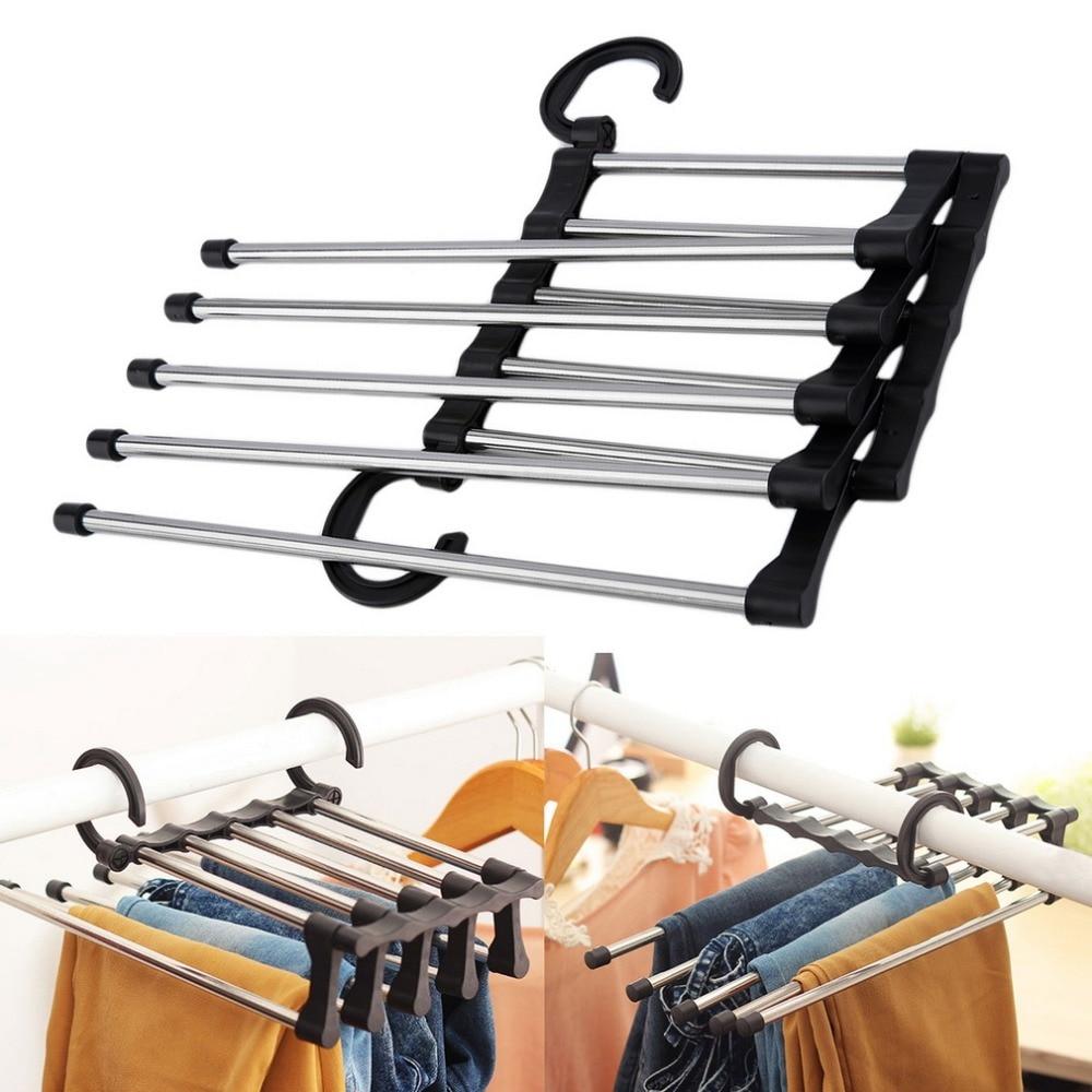 Effective pants hanger organizer