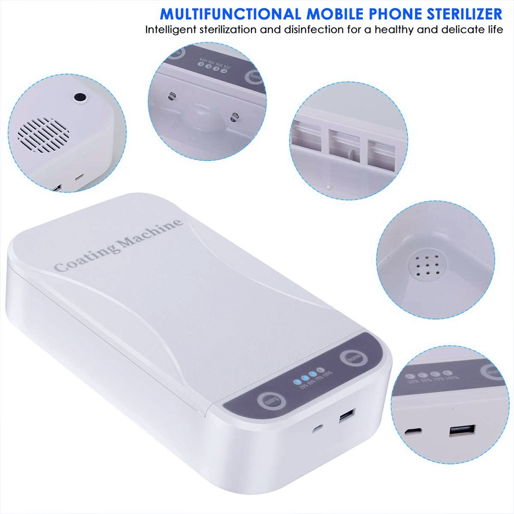 Portable UV Light Cell Phone Sanitizer Cell Phones & Accessories