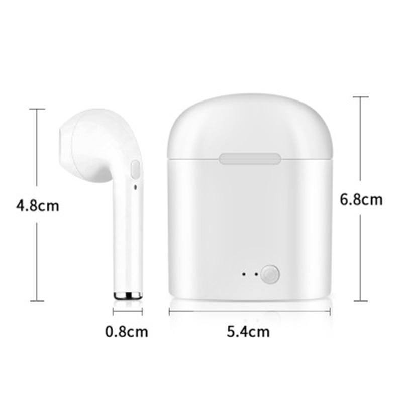 Wireless Earbuds White Black Gold Red Pink Cell Phones & Accessories