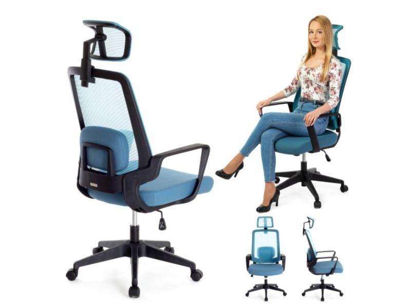 Ergonomic Office Chair with Headrest Home & Kitchen