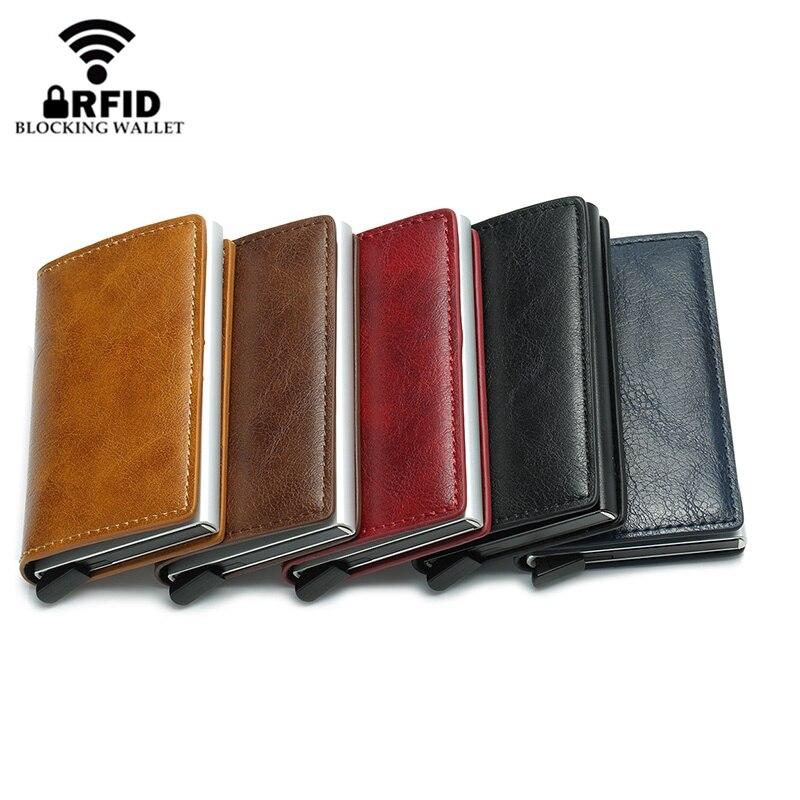 Smart Wallet Business Card Holder RFID technology Wallets