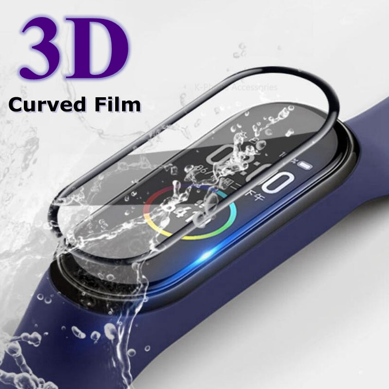 3D Screen Protector for Xiaomi Mi Band Scratch-resistant Accessories