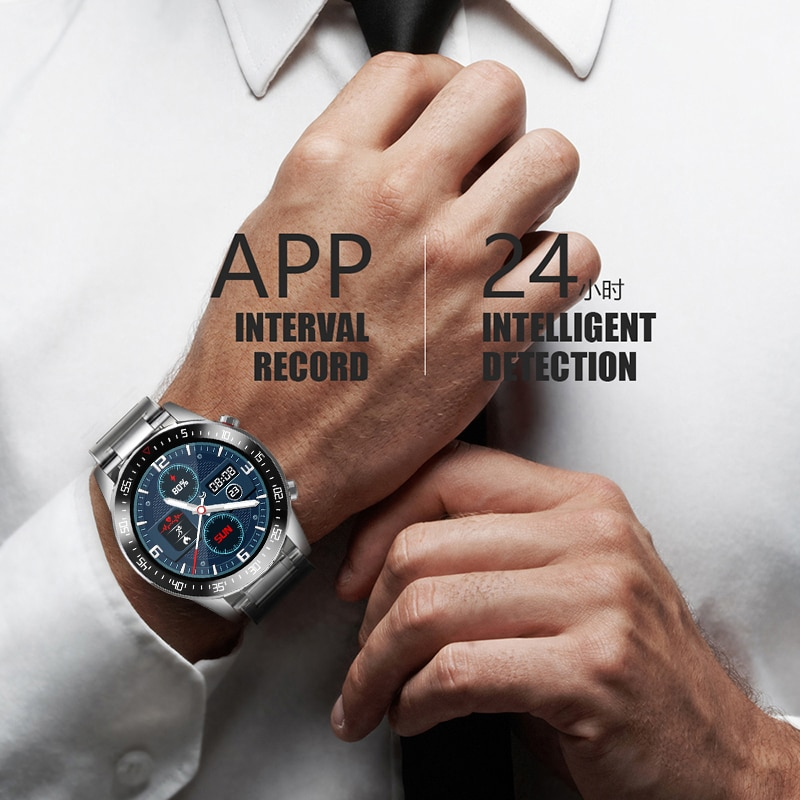 LIGE 2020 Touchscreen Mens Smart Watch IP68 Waterproof Men - Clothing & Jewelry