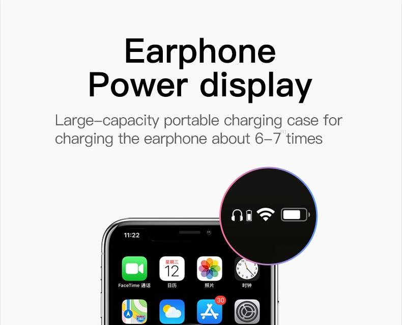 i9000 Pro TWS Wireless Earphone Earbud Headphones