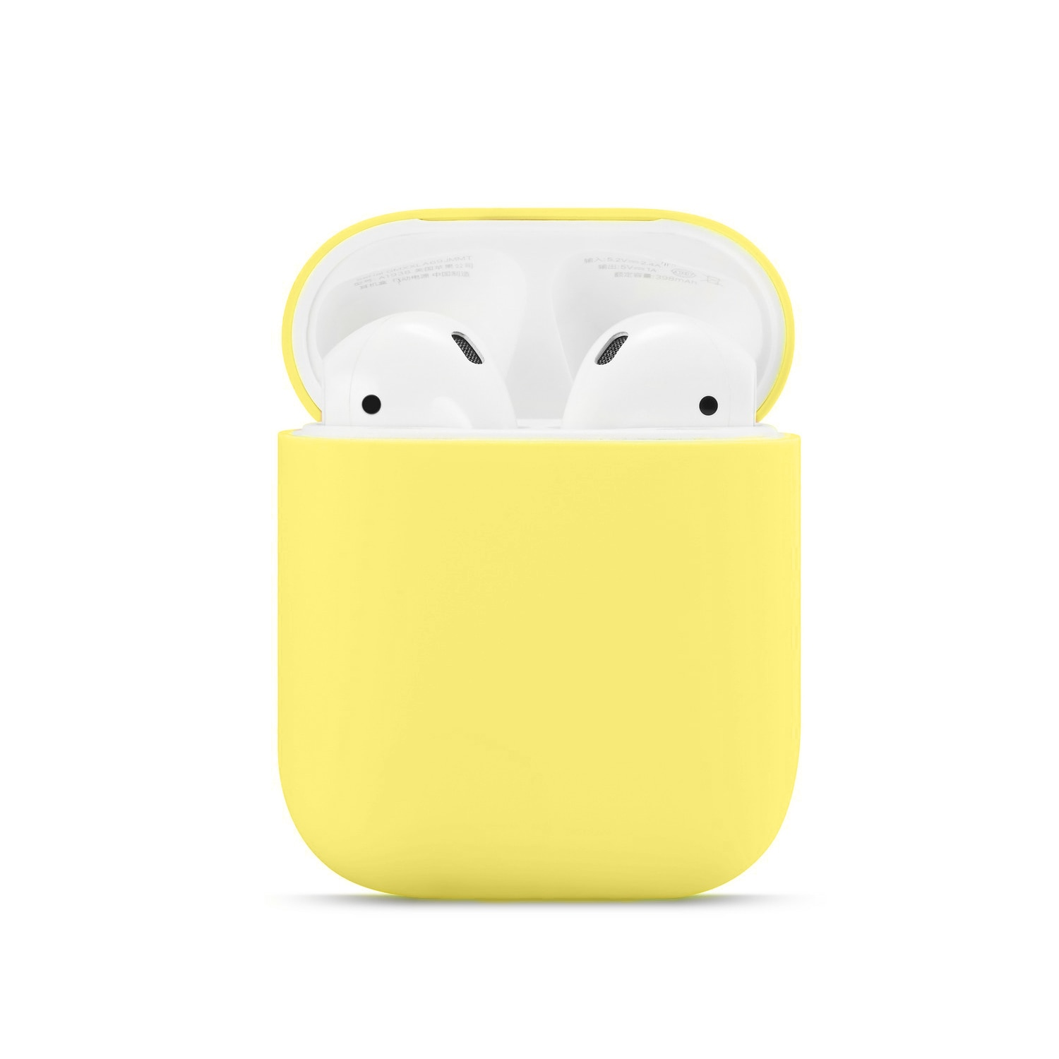 Yelllow Soft silicone case for Apple airpods