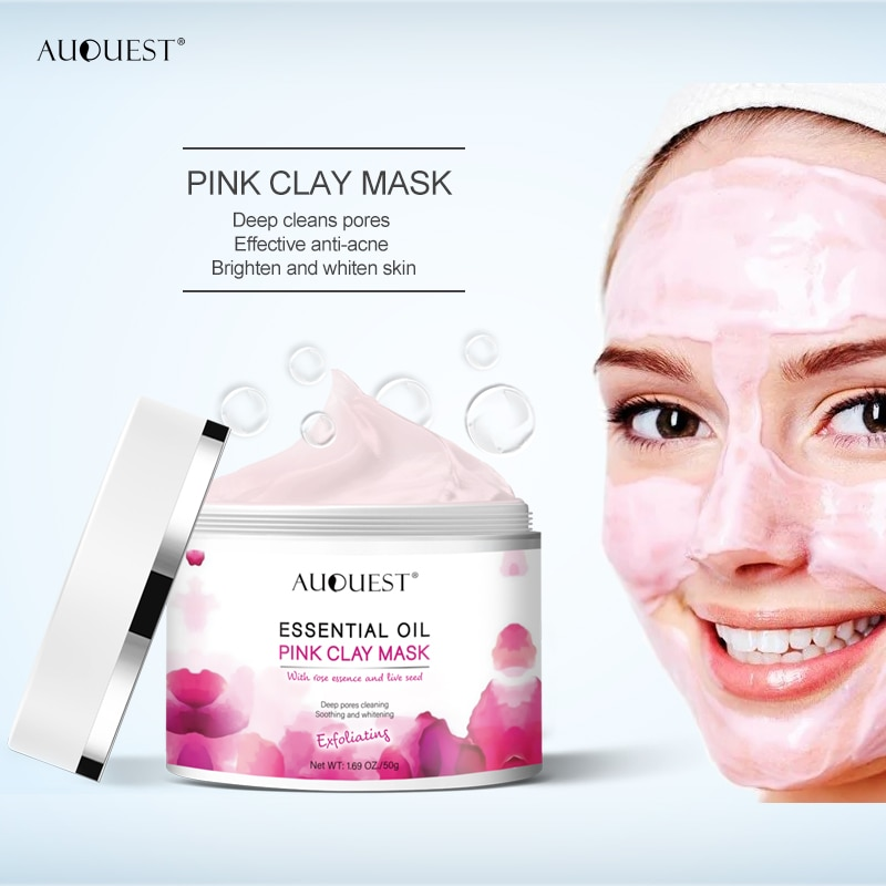 Pink Clay Kaolin Face Mask 50g 1.70 oz Beauty & Personal Care