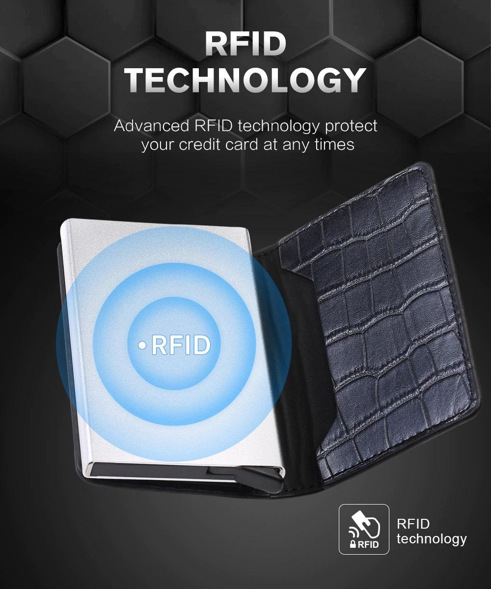 Smart wallet rfid technology