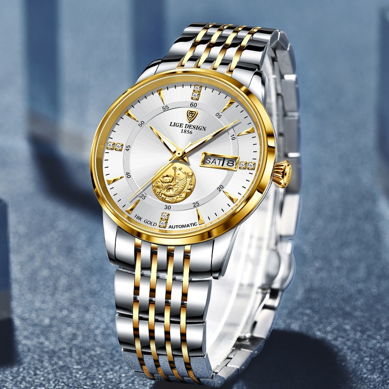 Luxury LIGE Business Watch for Men Best Sellers