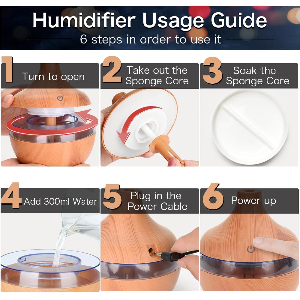 wood air humidifier