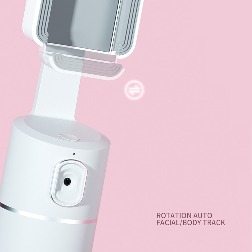 360 face tracking phone holder