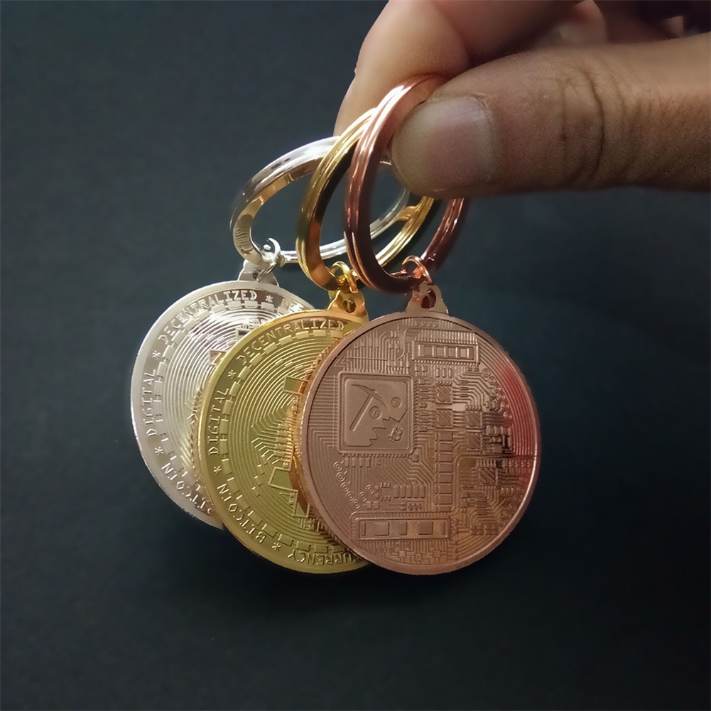 bitcoin key chain